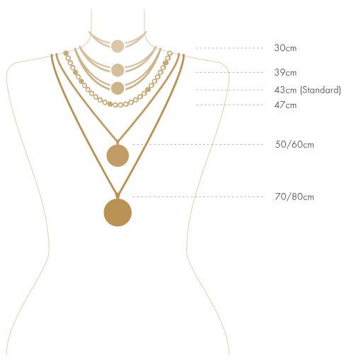 Necklaces Size Guide Info Bernd Wolf